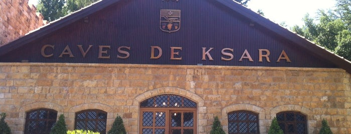 Chateau Ksara is one of Wine World.