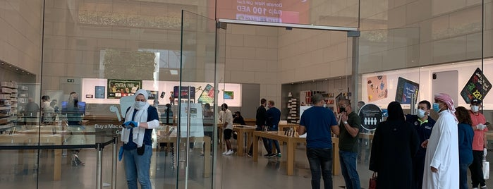 Apple Yas Mall is one of Posti che sono piaciuti a Bloggsy.