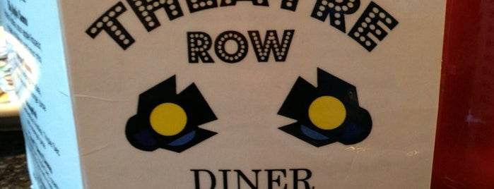 Theatre Row Diner is one of Locais curtidos por Ginger.