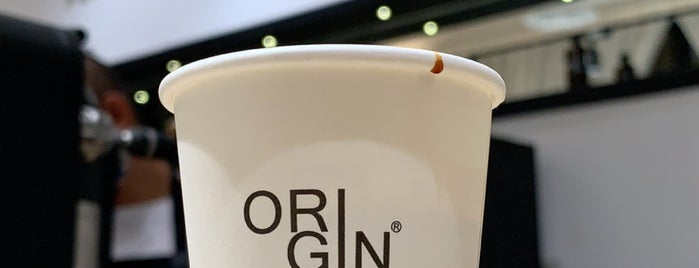 ORIGIN COFFEE ROASTERS is one of Ferasさんの保存済みスポット.