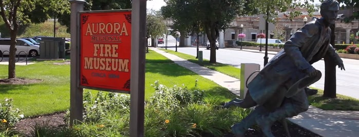 Aurora Regional Fire Museum is one of Chicagoland.