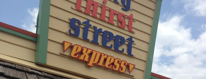 Forty Thirst Street Express is one of Disney Springs.