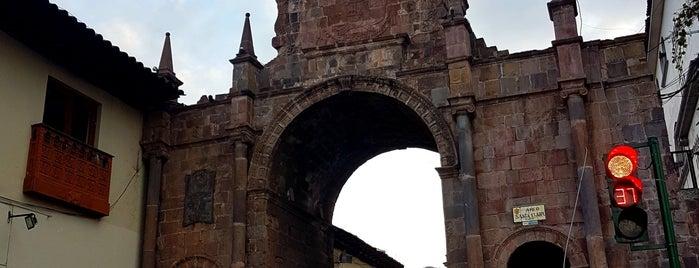 Arco de Santa Clara is one of Cuzco Favorites.