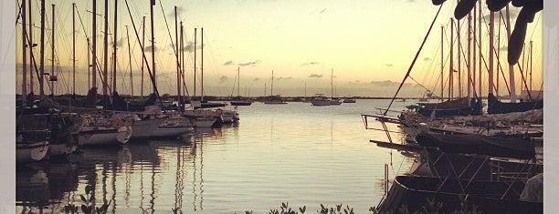 La Mariana Sailing Club is one of Hawaii.