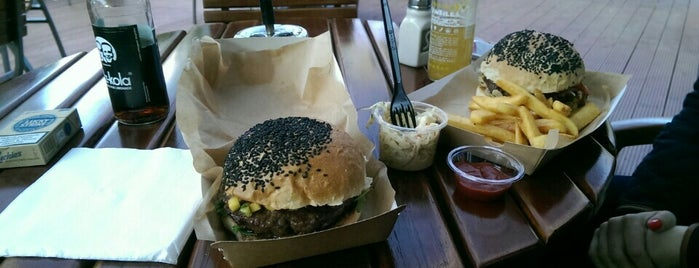 Pobyku Burger, Steak & Bar is one of Hipster Places in Warsaw.
