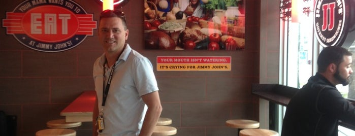 Jimmy John's is one of @MisterHirschさんのお気に入りスポット.
