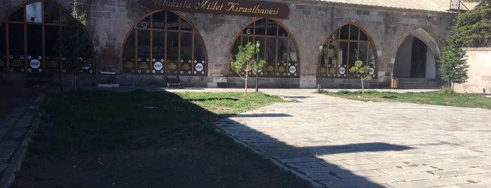 Öküz Mehmet Paşa Kervansarayı is one of Lieux qui ont plu à Kadir.