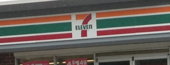7-Eleven is one of Orte, die Mei gefallen.