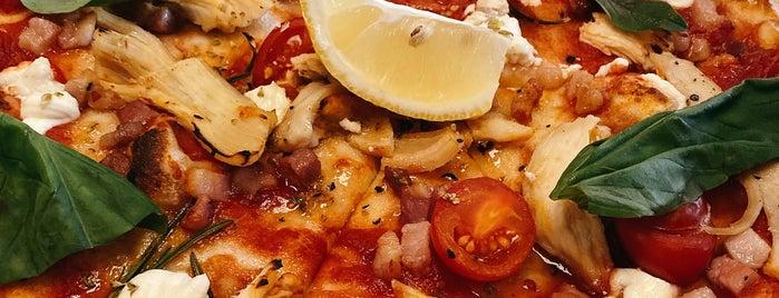 PizzaExpress is one of Tempat yang Disimpan Sergio.