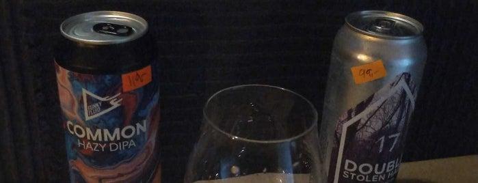 Beer Knír is one of prague pubs.
