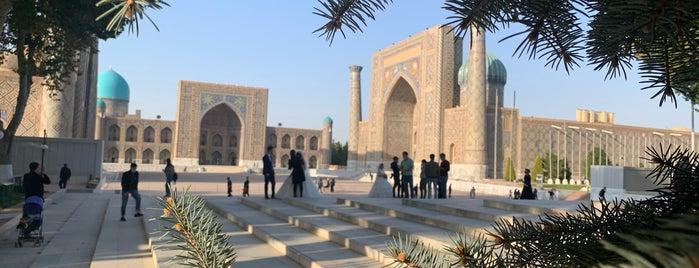 Samarqand / Samarkand / Самарканд is one of Lieux sauvegardés par Ali.