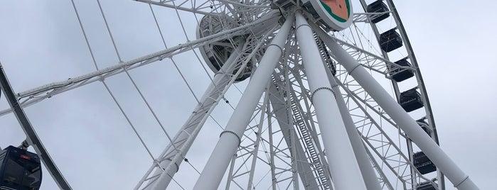 Centennial Wheel is one of สถานที่ที่ Tim ถูกใจ.