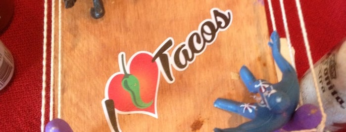 I Love Tacos is one of Lugares favoritos de Val.
