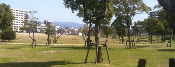 Hakozaki Park is one of Fukuoka.