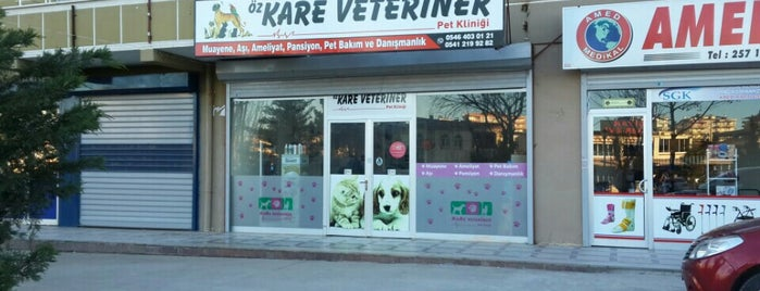 Kare Veteriner Kliniği is one of Diyarbakır'daki Veteriner Listesi.