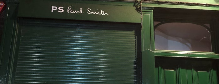 Paul Smith is one of London to-do.
