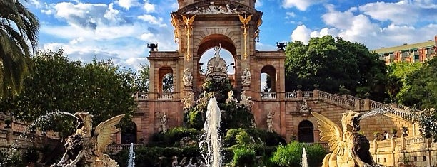 Parc de la Ciutadella is one of // Barcelona.