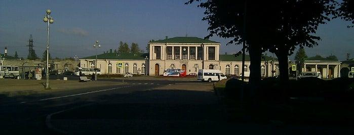 Привокзальная площадь is one of Locais curtidos por Natalie.