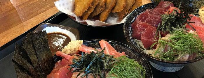 마구로쇼쿠로 is one of seafood.
