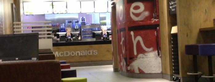 McDonald's is one of Orte, die Andělka gefallen.
