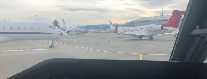 TAG Aviation Geneva is one of Geneva (GVA) airport venues.