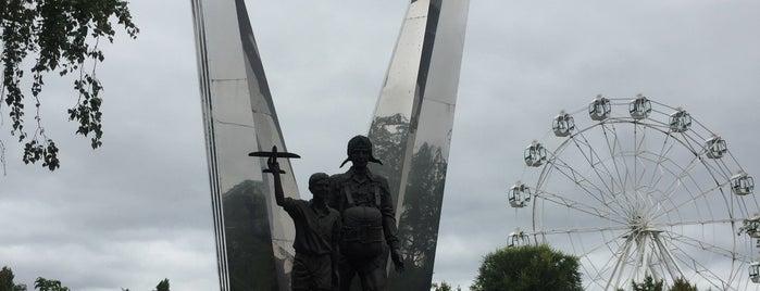 Памятник «Воронеж — родина ВДВ» is one of Воронеж.