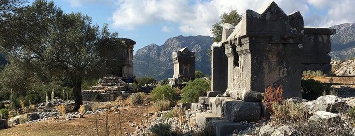 Sidyma is one of Antik kentler ve  müzeleri.