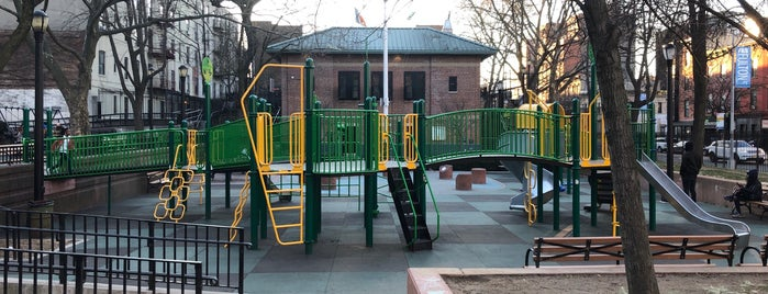 Crispus Attucks Playground is one of Fed and Entertained.