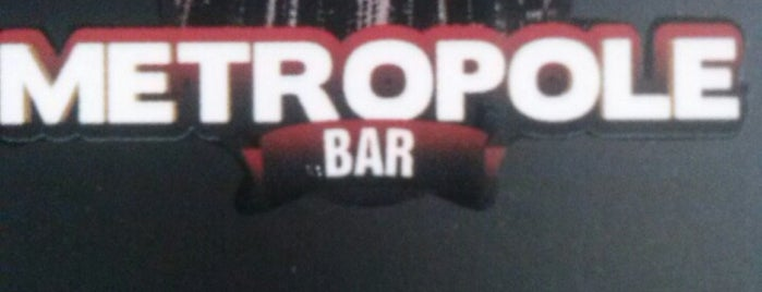 Metropole Bar is one of Locais salvos de Fabio.