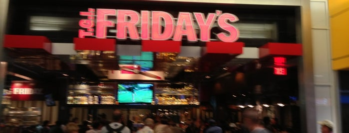 TGI Fridays is one of Restaurantes.