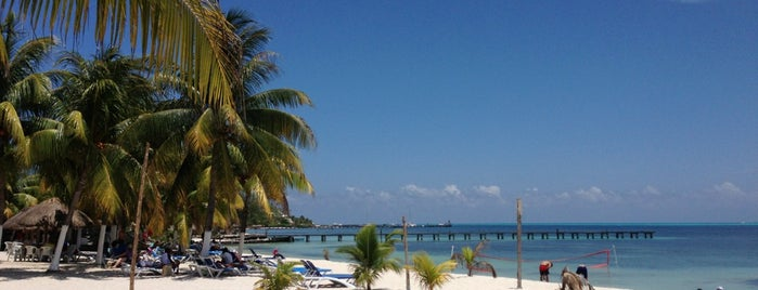 Playa Lancheros is one of Cancún, MX..