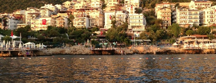 Kaş Sahil is one of antalya rota.