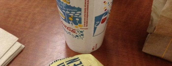 McDonald's is one of Restaurants.