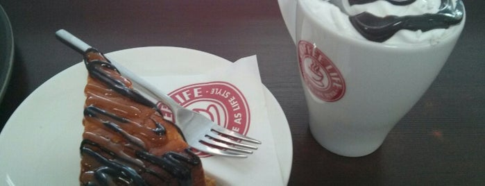 Coffee Life is one of Free wi-fi places in Kharkov.