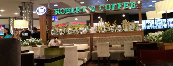 Robert's Coffee is one of Yerler - Antalya.
