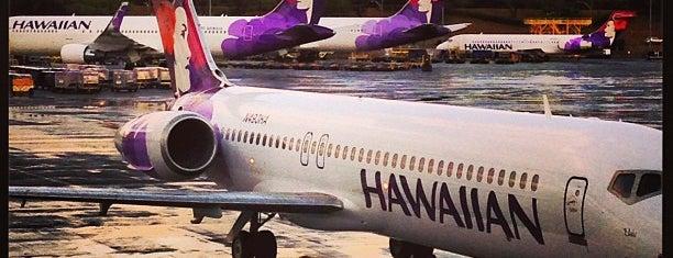 ダニエル K イノウエ国際空港 (HNL) is one of Hawaii 2014 LenTom.