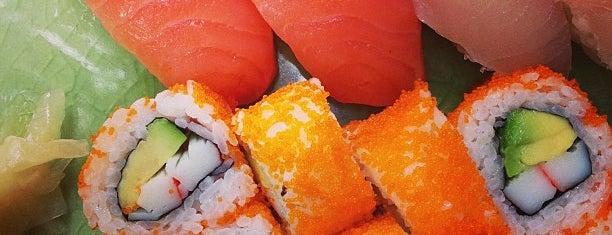 Fuku Sushi is one of Orte, die Patricia gefallen.