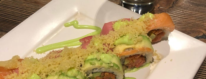 Sushi Roll is one of Locais curtidos por Giovo.