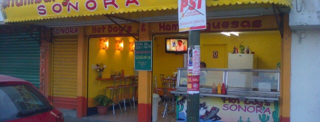 Hamburguesas y Hot Dogs Sonora is one of Estudihambre.