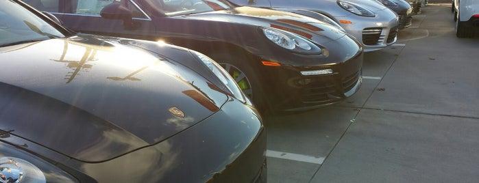 Porsche of West Houston is one of Tempat yang Disukai Ms. Damaris.