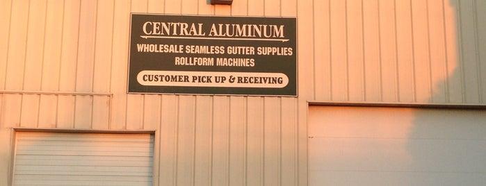 Central Aluminum is one of สถานที่ที่ Tannis ถูกใจ.