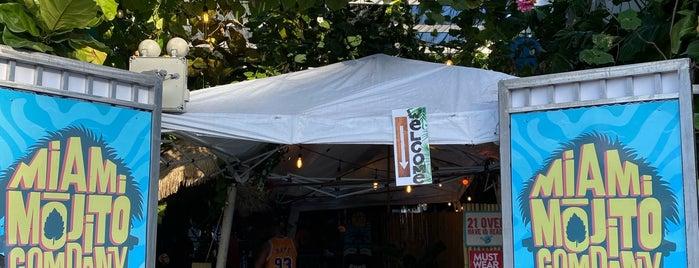 Miami Mojito Company is one of Miami.