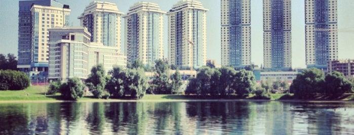 Мосфильмовский пруд is one of สถานที่ที่ Olga ถูกใจ.