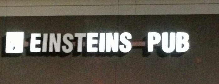 Einsteins Pub is one of houston nothing.