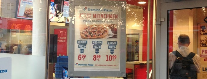 Domino's Pizza is one of Locais salvos de N..