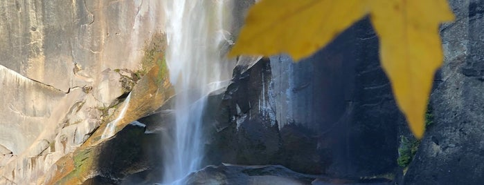 Vernal Falls is one of Yousemite.