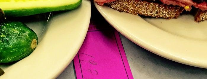 Katz's Delicatessen is one of 5 Best: New York Delis.