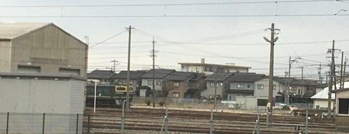 JR西日本 金沢総合車両所松任本所 is one of JRの総合車両センター・工場.