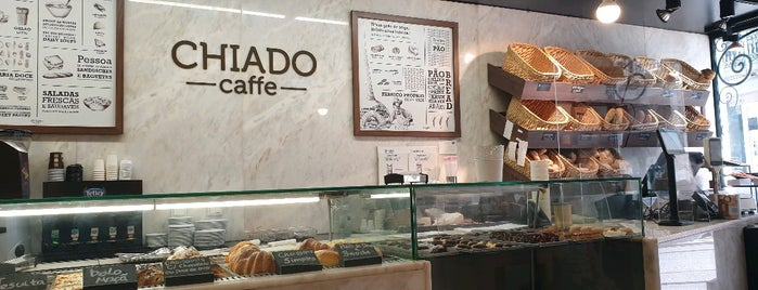 CHIADO caffe is one of Lisabon.