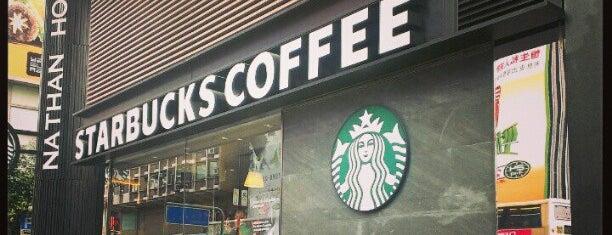 Starbucks is one of Orte, die Martin gefallen.